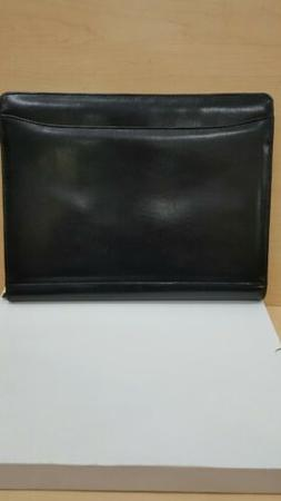 Portfolio 12×10 black color with lots of slots with zipper