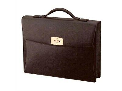 briefcase contraste s t dupont leather man