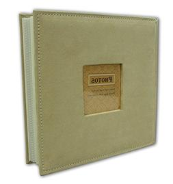 """Golden State Art Photo Album, Holds 200 4""""x6"""" pictures, 2 pe"""