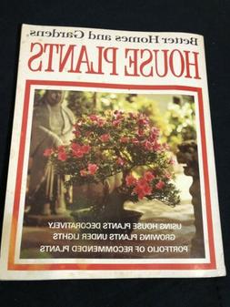 Vtg 1971 Better Homes Gardens House Plants Decorate Growing